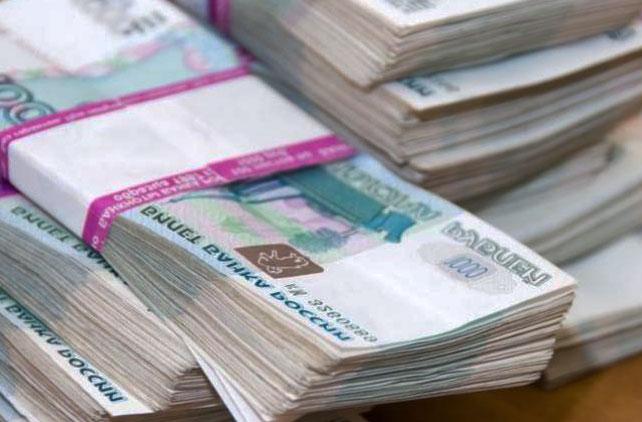 деньги, российские рубли