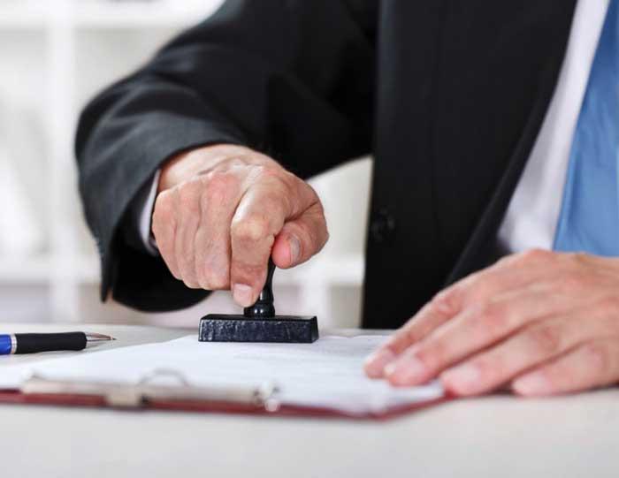 человек, печать, документ
