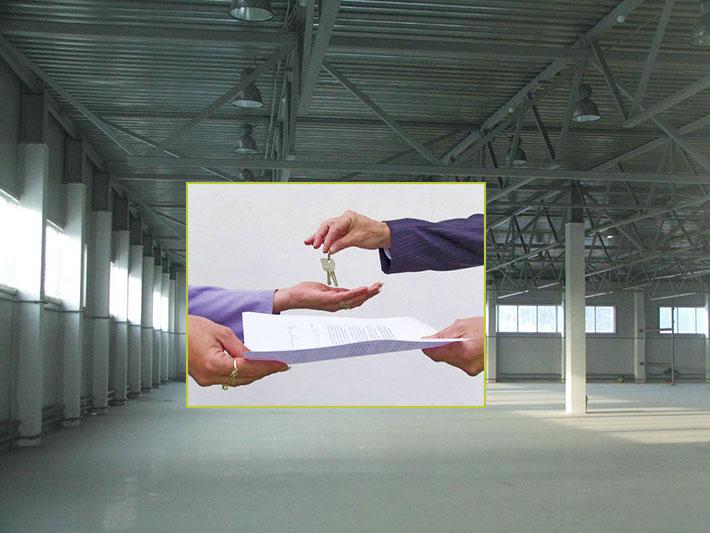 Заключение договора аренды помещений под склад