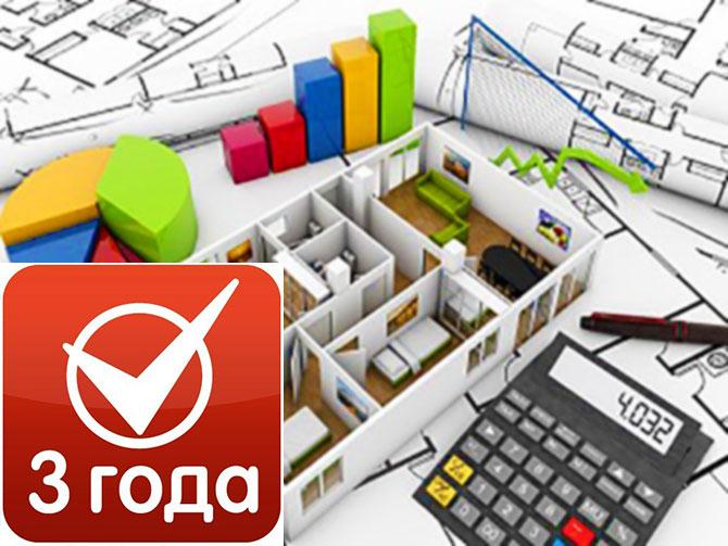 Зависимость суммы налога с продажи от срока владения недвижимостью