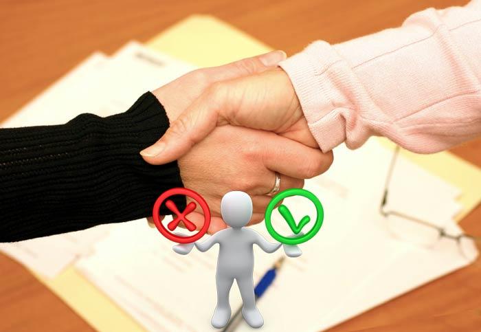 Подписание предварительного договора покупки коммерческой недвижимости