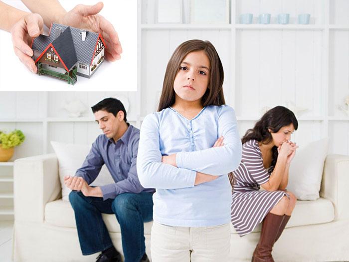Развод родителей и переселение детей