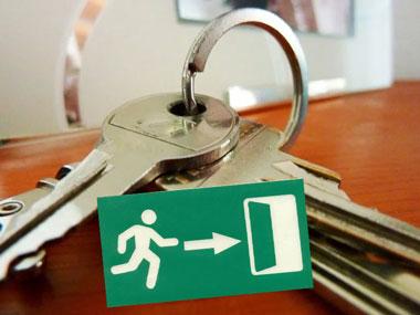 Ключи и выселение