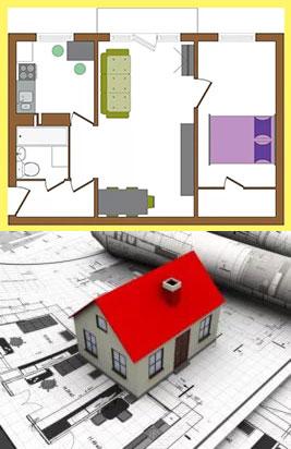 Планировка кв с изолированными комнатами