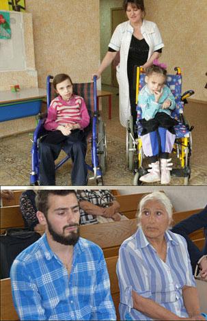 Инвалиды 1-й группы и пенсионеры