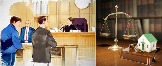 Суд по долгам за квартплату