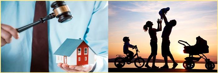 Судебный процесс по выселению и семья с детьми