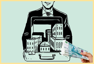 Риелтор, недвижимость и передача денег