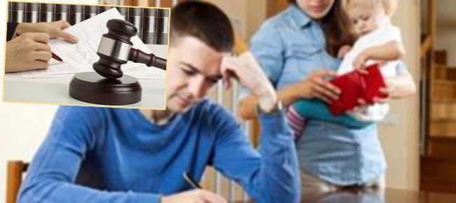 Семья с ребенком и суд