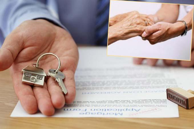 Договор и передача ключей от квартиры и услуги ухода за пожилыми