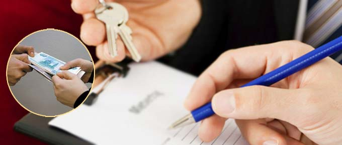 Составление договора аренды квартиры и передача денег