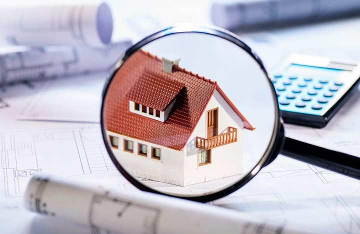 Осмотр объекта недвижимости или земельного участка
