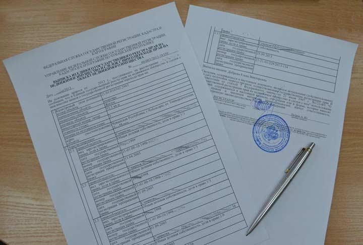 Документы для оформления кадастрового паспорта