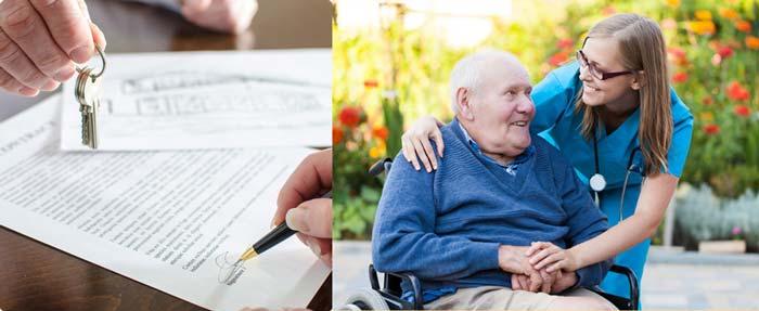 Подписание договора и уход за пожилыми