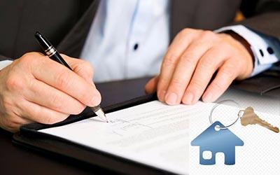 Подписание договора и ключ от квартиры