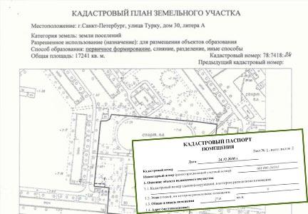Кадстровый план и кадастровый паспорт
