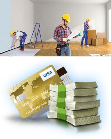 Строительные работы и деньги