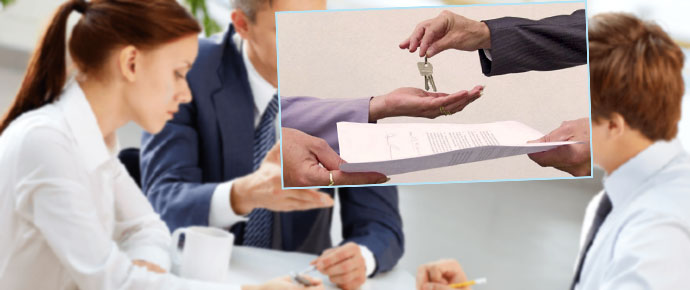 Перегоовры, передача договора и ключей