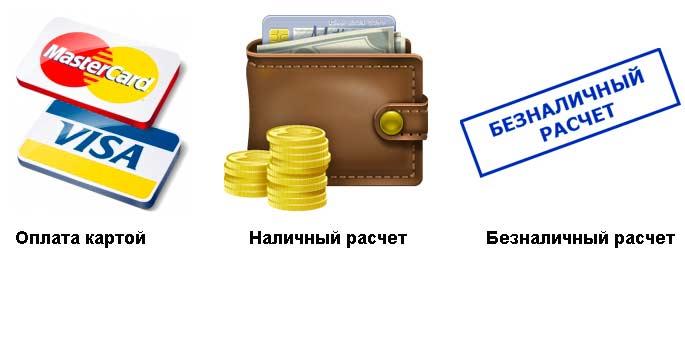 Расчет за услуги