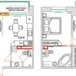 Перепланировка квартиры объединение кухни и комнаты: оформление документов +Фото