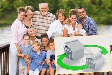 Семьи и обмен жилья