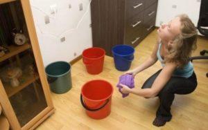 Убираем воду после затопления