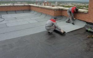 Крыша в ремонте