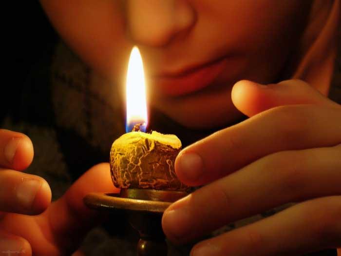 свеча, молитва