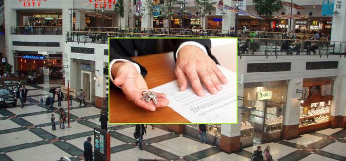 Заключение договора аренды торговых площадей