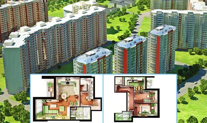 Какие бывают планировки квартир