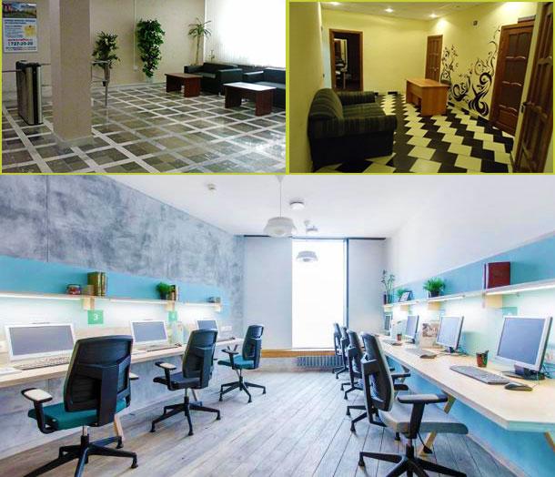 Категория и размеры офиса