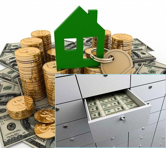 Погашение задолженности через банковские ячейки
