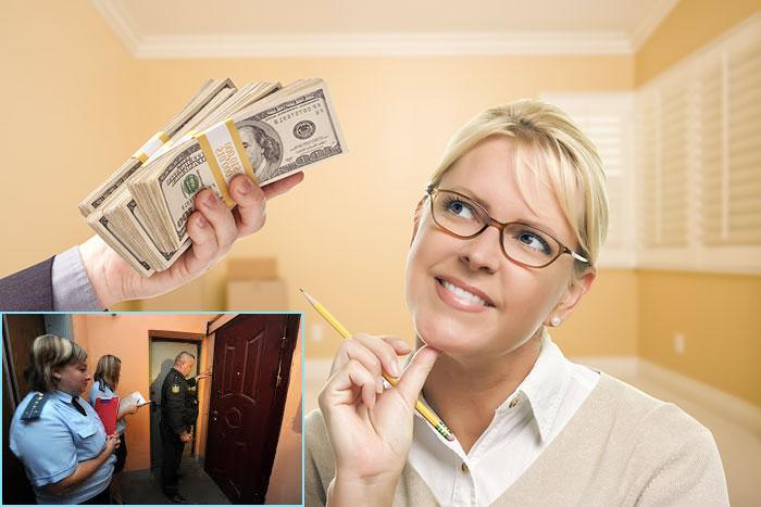 Угрозы обслуживающих организаций при покупке квартиры с долгами