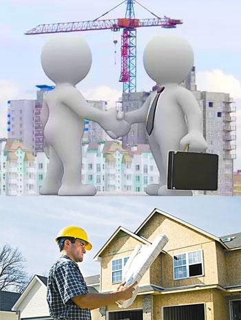 Строительные работы и переговоры