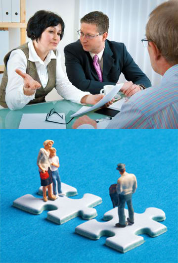 Переговоры и разделение счета