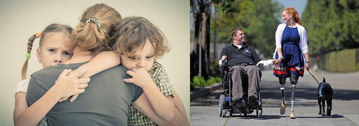 Несовершеннолетние дети и инвалиды 1 группы
