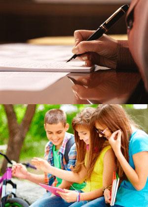 Несовершеннолетние, писать заявление
