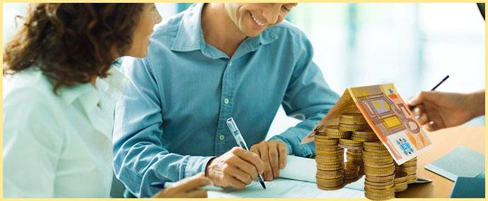 Оформление документов и домик из денег