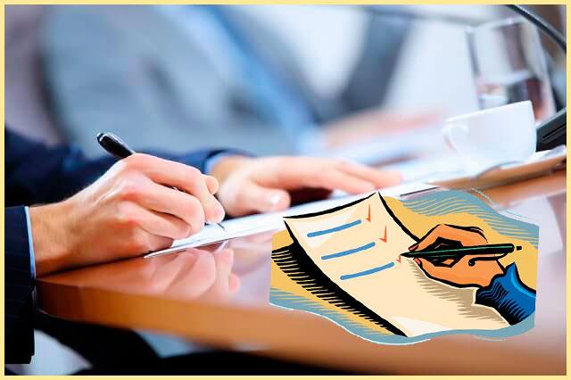 Заполнение документа по пунктам