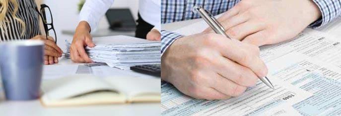 Заполнение бланков на временную регистрацию нерезидента в РФ
