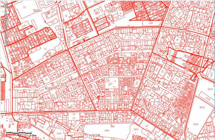 Кадастровая карта недвижимости