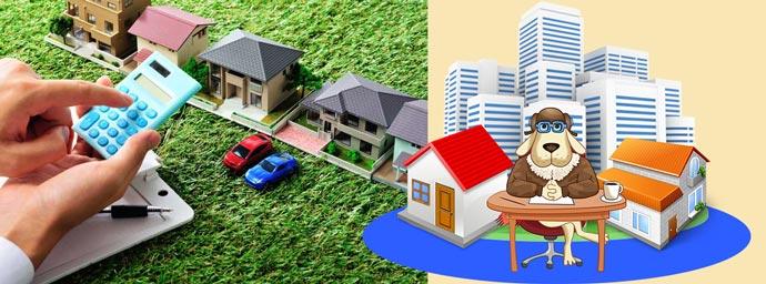 Рынок недвижимости и подсчеты на калькуляторе