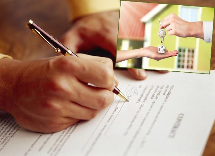 Подписанеи договора и передача ключей