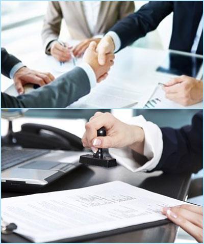 Переговоры и подписание договора