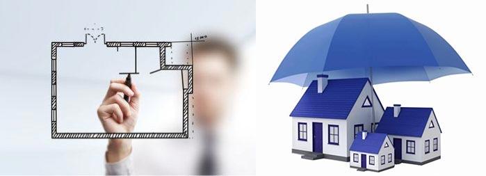 Стархование жилья и перепланировка