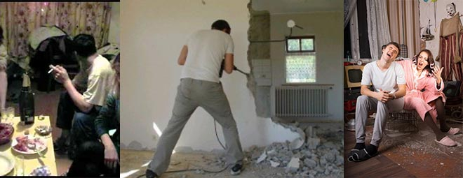 Соседи шумят, гуляют и ломают стены