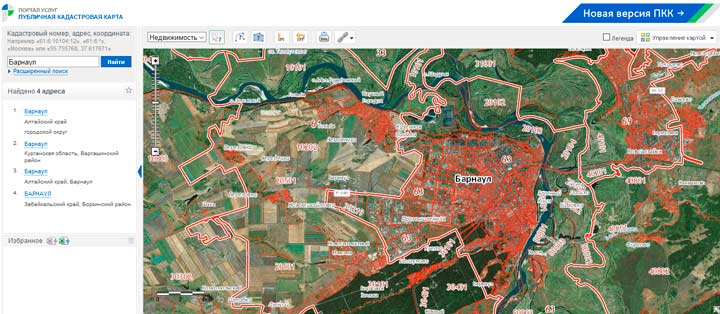 Карта онлайн