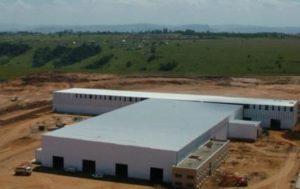 Промышленная земля и постройка