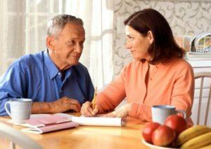 Беседа с пенсионером