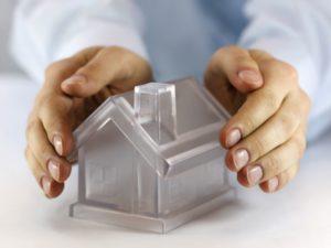 Прозрачный домик